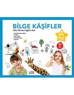 Minik Ada Yayınları Bilge Kaşifler Okul Öncesi Eğitim Seti (6 Yaş)
