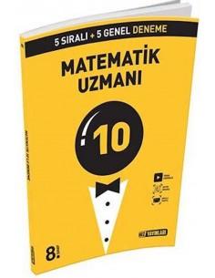Hız Yayınlarıı 8. Sınıf LGS Matematik Uzmanı 10 Deneme