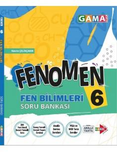 Gama Yayınları 6. Sınıf Fen Bilimleri Fenomen Soru Bankası