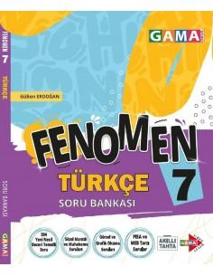 Gama Yayınları 7. Sınıf Türkçe Fenomen Soru Bankası