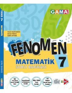 Gama Yayınları 7. Sınıf Matematik Fenomen Soru Bankası