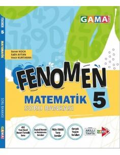 Gama Yayınları 5. Sınıf Matematik Fenomen Soru Bankası