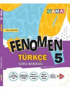 Gama Yayınları 5. Sınıf Türkçe Fenomen Soru Bankası