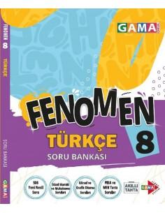 Gama Yayınları 8. Sınıf Türkçe Fenomen Soru Bankası