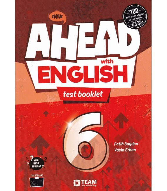 Team ELT Ahead with English 6 Test Booklet