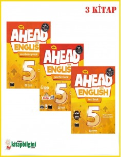 Team ELT 5. Sınıf Ahead With English Set (3 Kitap)