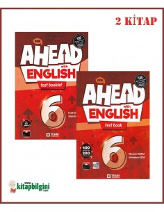 Team ELT 6. Sınıf Ahead with English Test Set (2 Kitap)