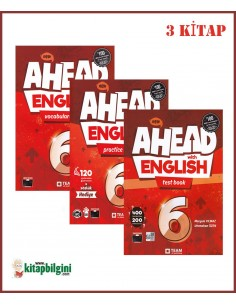 Team ELT 6. Sınıf Ahead with English Set (3 Kitap)