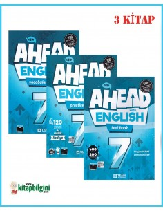 Team ELT 7. Sınıf Ahead With English Set (3 Kitap)