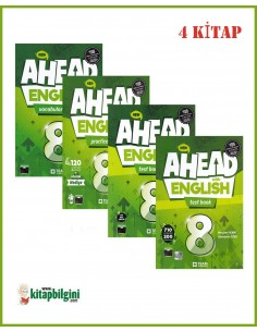 Team ELT 8. Sınıf Ahead with English Set (4 Kitap)