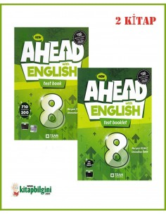 Team ELT 8. Sınıf Ahead with English Test Set (2 Kitap)