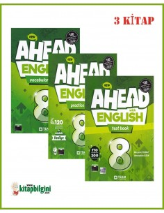 Team ELT 8. Sınıf Ahead with English Set (3 Kitap)