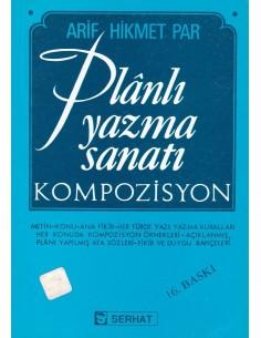 Planlı Yazma Sanatı Kompozisyon Serhat Yayınları