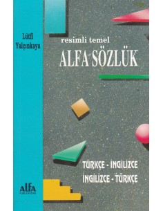 Resimli Temel Alfa Sözlük Alfa Yayıncılık