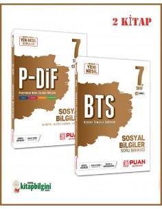 Puan Yayınları 7. Sınıf Sosyal Bilgiler Kazandıran Set (2 Kitap)