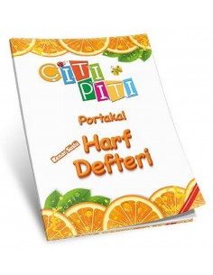Koza Yayınları Çıtı Pıtı Portakal Harf Defteri