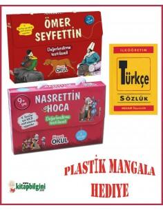 Hayat Okul Yayınları Kampanyalı Set 2 (Anadolu Yiğitleri ve Can Kardeşler)