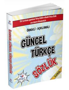 Koza Yayın Resimli Güncel Türkçe Sözlük