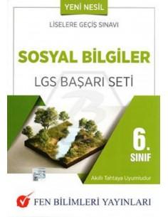 Fen Bilimleri Yayınları 6. Sınıf Sosyal Bilgiler LGS Başarı Seti