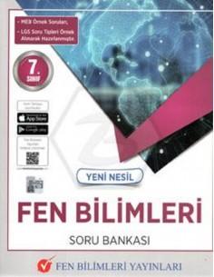 Fen Bilimleri Yayınları 7.Sınıf Yeni Nesil Fen Bilimleri Soru Bankası