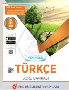 Fen Bilimleri Yayınları 7. Sınıf Yeni Nesil Türkçe Soru Bankası