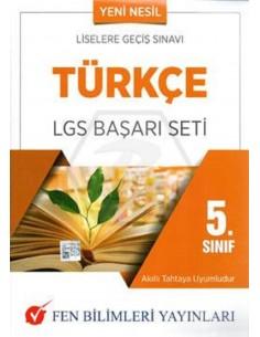 Fen Bilimleri Yayınları 5.Sınıf Türkçe LGS Başarı Seti