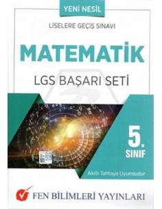 Fen Bilimleri Yayınları 5.Sınıf Matematik LGS Başarı Seti