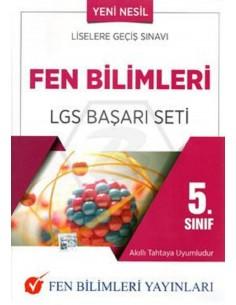 Fen Bilimleri Yayınları 5.Sınıf Fen Bilimleri LGS Başarı Seti