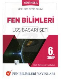 Fen Bilimleri Yayınları 6.Sınıf Fen Bilimleri LGS Başarı Seti