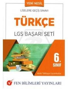 Fen Bilimleri Yayınları 6.Sınıf Türkçe LGS Başarı Seti