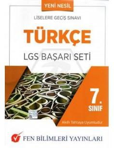 Fen Bilimleri Yayınları 7.Sınıf Türkçe LGS Başarı Seti