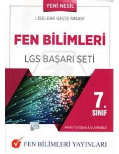 Fen Bilimleri Yayınları 7.Sınıf Fen Bilimleri LGS Başarı Seti