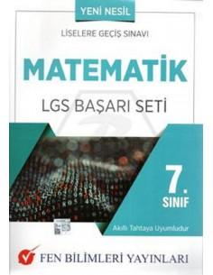 Fen Bilimleri Yayınları 7. Sınıf Matematik LGS Başarı Seti