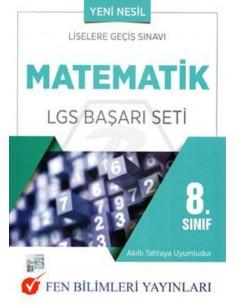 Fen Bilimleri Yayınları 8. Sınıf Matematik LGS Başarı Seti
