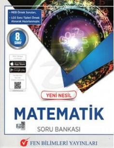 Fen Bilimleri Yayınları 8.Sınıf Yeni Nesil Matematik Soru Bankası