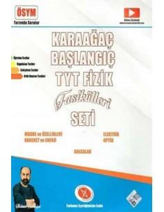 Karaağaç Yayınları TYT Fizik Fasikülleri Seti (5 Fasikül)