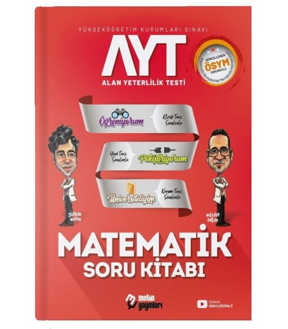 Metin Yayınları AYT Matematik Soru Kitabı