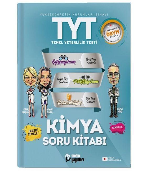 Metin Yayınları TYT Kimya Soru Bankası