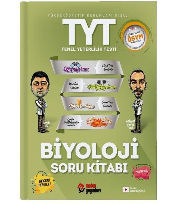 Metin Yayınları TYT Biyoloji Soru Kitabı Metin Yayınları