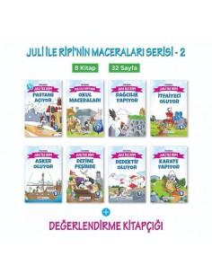 Mavi Deniz Yayınları Juli İle Ripi'nin Maceraları