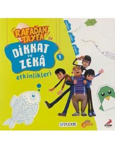 Rafadan Tayfa ile Dikkat ve Zeka Etkinlikleri 1 Erdem Yayınları