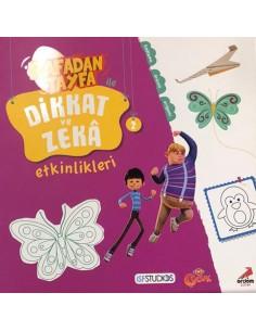 Rafadan Tayfa ile Dikkat ve Zeka Etkinlikleri 2 Erdem Yayınları