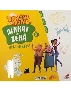 Rafadan Tayfa ile Dikkat ve Zeka Etkinlikleri 3 Erdem Yayınları
