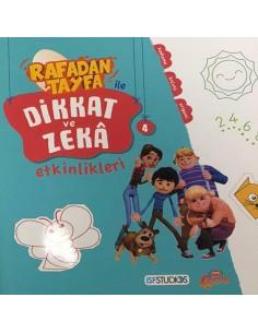 Rafadan Tayfa ile Dikkat ve Zeka Etkinlikleri 4 Erdem Yayınları