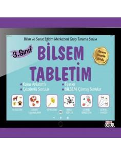 Hayat Okul Yayınları Bilsem Tabletim 3. Sınıf Sınava Hazırlık Kitabı