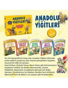 Anadolu Yiğitleri 5 Kitap Hayat Okul Yayınları