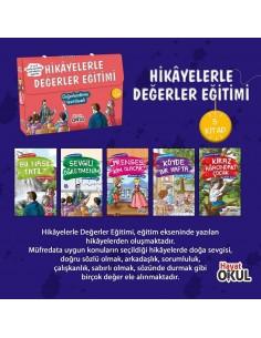 Hikayelerle Değerler Eğitimi 5 Kitap Hayat Okul Yayınları