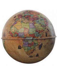 Gürbüz Globe Kalemtraş Hayvanlı Küre Kumbara 10 Cm