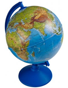 İngilizce Işıklı Küre (26 cm) - Gürbüz Yayınları