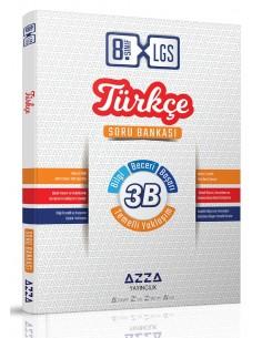 Azza Yayıncılık 8. Sınıf LGS 3B Türkçe Soru Bankası